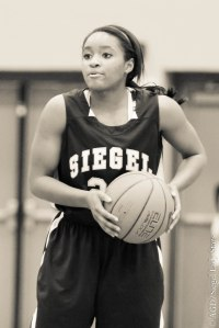 This is Erica Roberts.  She is a senior.  She had the game of her life, 19 points, 11 free throws.